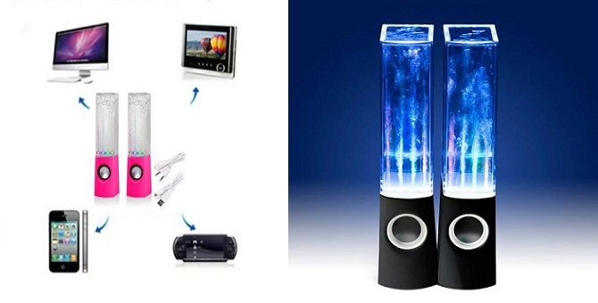 Ηχεία Dancing Water Speakers 6W
